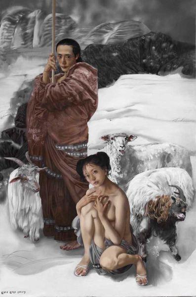 《蘇武牧羊》2007年 新浪收藏配圖
