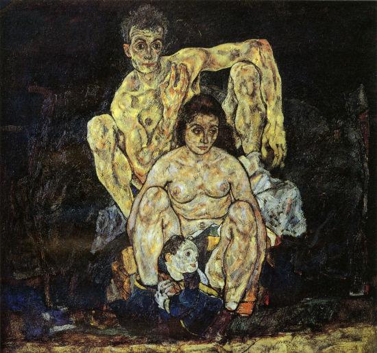席勒/埃贡·席勒的作品《家》