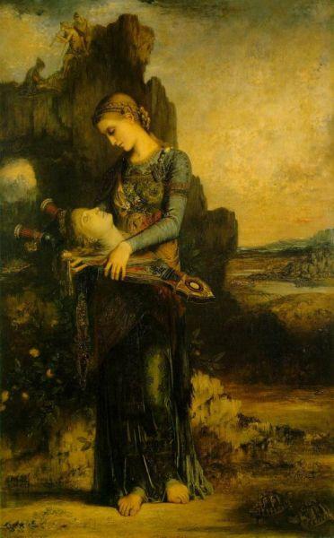 莫罗:拿着俄耳甫斯头颅的色雷斯姑娘
