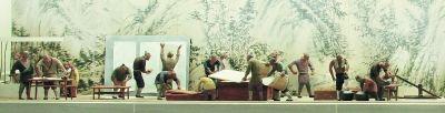 造纸图(局部) 安徽博物院藏