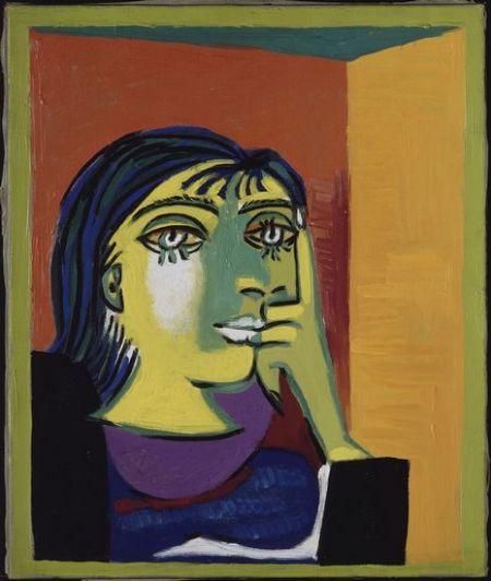 毕加索中国大展的展品贯穿了毕加索一生中各个主要的创作时期高清图片