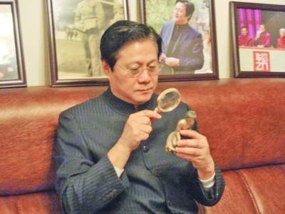 文化部艺术品评估委员会副主任王立军