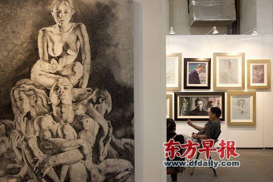 资金不足、拍卖行的挤压等一直困扰着国内画廊业的发展。高剑平 图