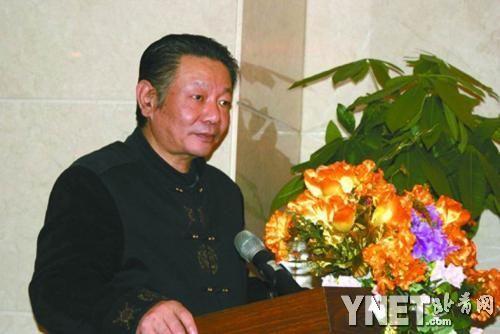 ■中国高层决策协会网站上有宁玉新演讲的照片