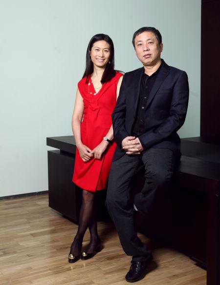 龙美术馆的创办人刘益谦王薇夫妇