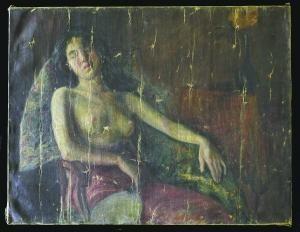 李叔同《半裸女像》