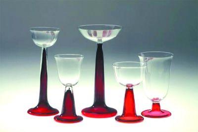 五件套玻璃器皿,彼得·贝伦斯(Peter Behrens)