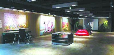 位于北京侨福芳草地购物中心内的芳草地画廊