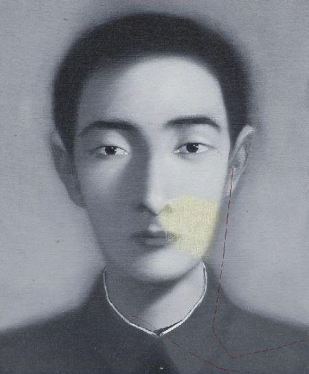 张晓刚:《血缘系列》(1997),估价为100万-150万港元。