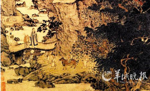故宫博物院藏《稚川移居图》