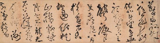 明  王铎 (1592-1652) 草书诗卷
