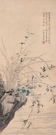 秦淮名妓马守真以擅画兰、竹、石著称