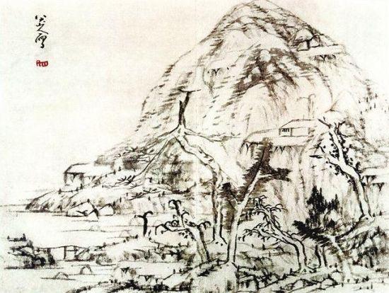 八大山人画作