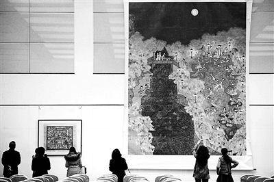 黄永玉巨幅画作捐赠国家博物馆