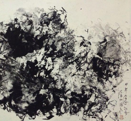 王清州抽象水墨作品展