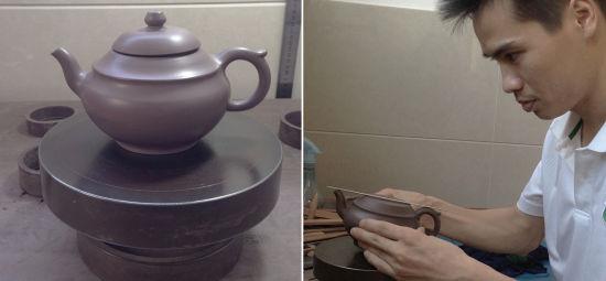 毛大�i:传承紫砂工艺实践技艺