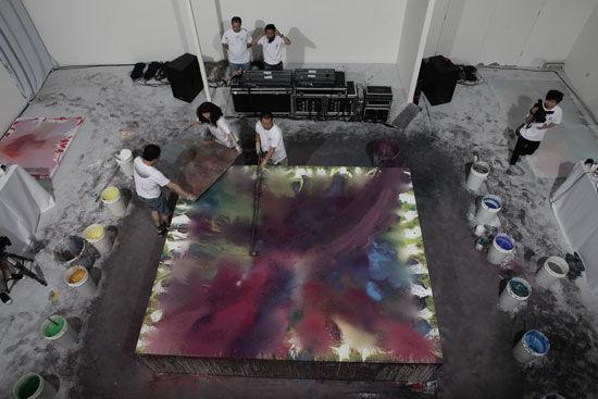 2011徐小国降噪展举行:艺术创作和声音角力