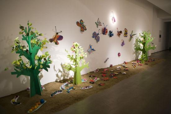 探索春天的秘密 我们来造动物园    ——今日启想儿童艺术中心创意
