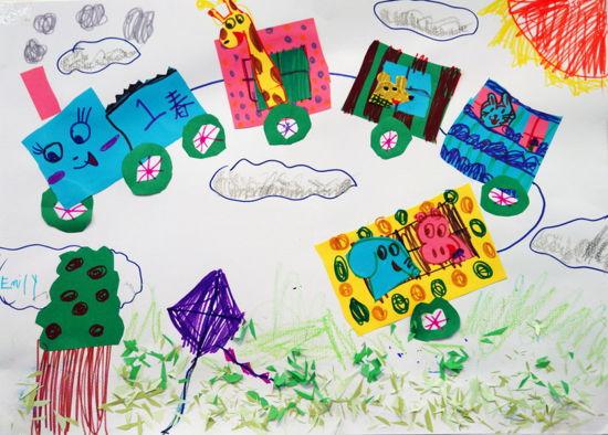 """春天的秘密,我们来造动物园""""今日启想儿童艺术中心创意展于今日美术馆"""