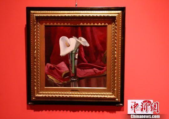 奥斯卡·基利亚的《马蹄莲》。