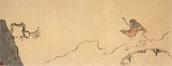 江云祥画展中央书画频道美术馆开幕图片