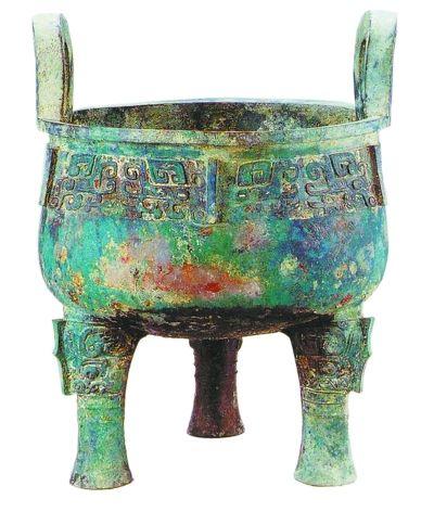 """""""堇鼎"""",是北京地區目前出土最大、最重的青銅器。"""